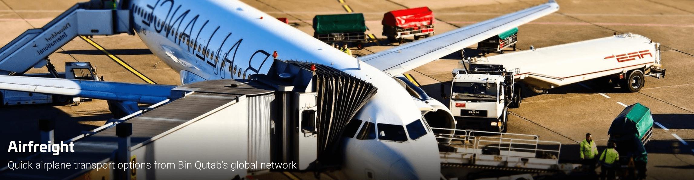 Bin Qutab Group | Air Freight | Supply Chain Management | Bin Qutab